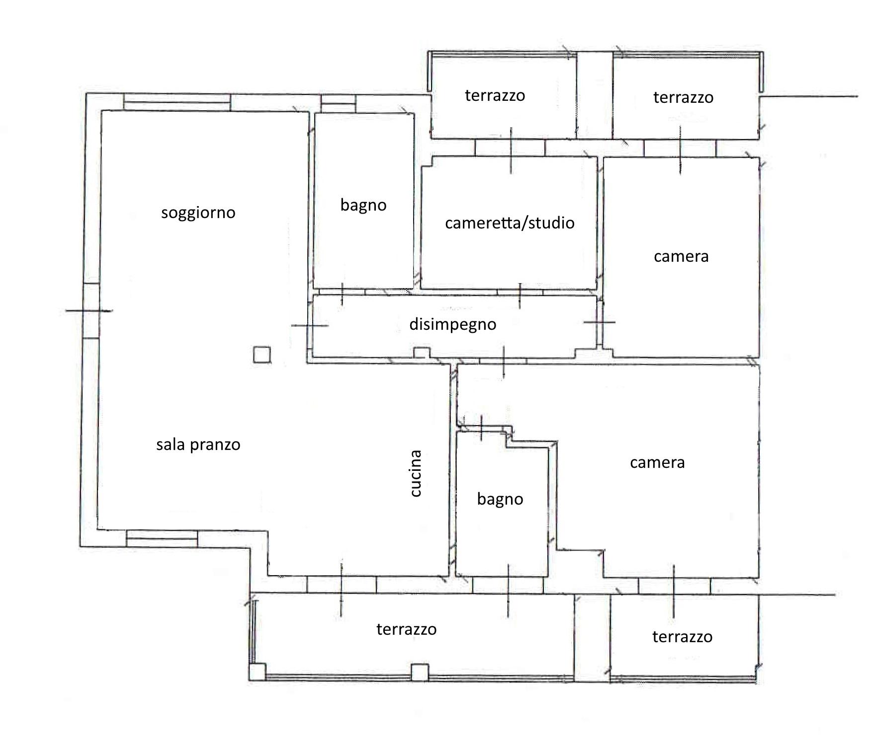 Planimetria 1/1 per rif. 3370