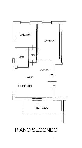 Planimetria /1 per rif. 3706