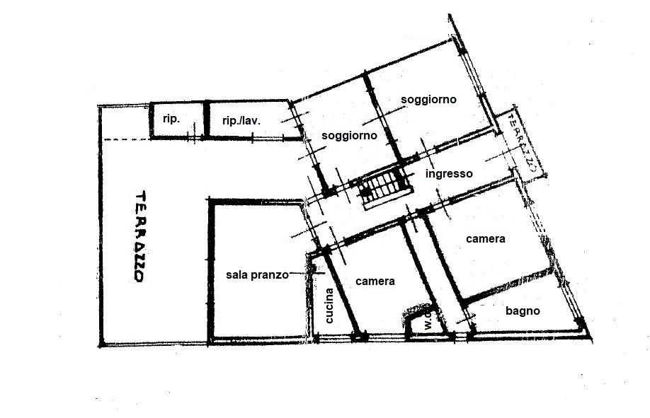 Planimetria /1 per rif. 3419