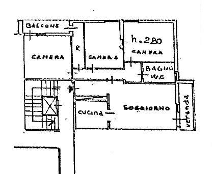 Planimetria /1 per rif. 3436