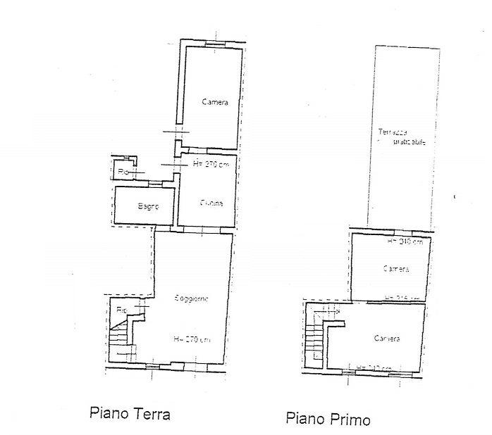 Planimetria /1 per rif. 3445