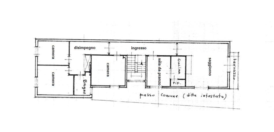 Planimetria 1/1 per rif. 3453