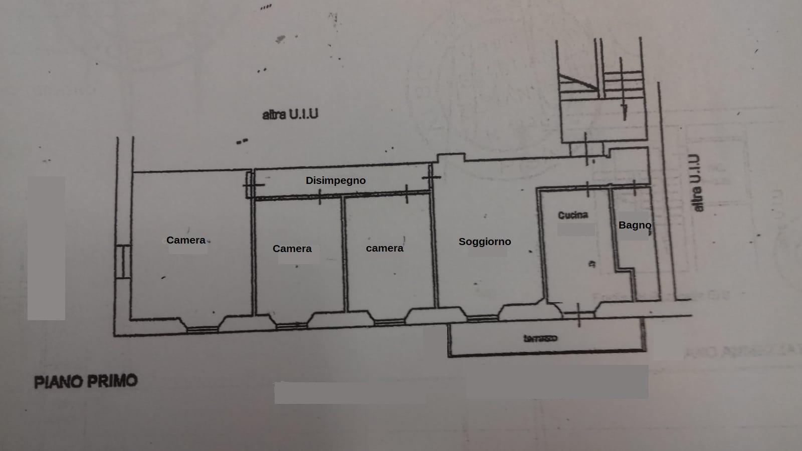 Planimetria 1/1 per rif. 3514