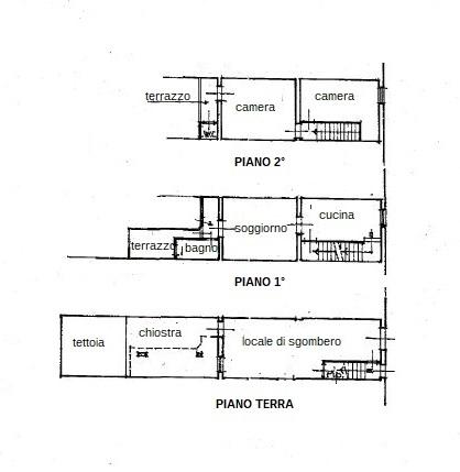 Planimetria 1/1 per rif. L047