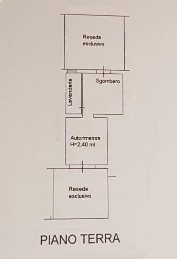 Planimetria 1/2 per rif. 3534