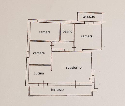 Planimetria /2 per rif. 3534