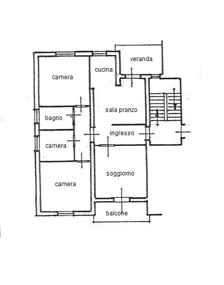 Planimetria /1 per rif. 3559