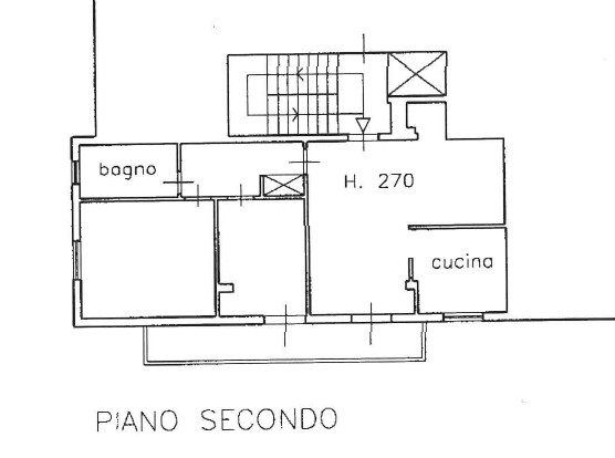 Planimetria /1 per rif. 3629