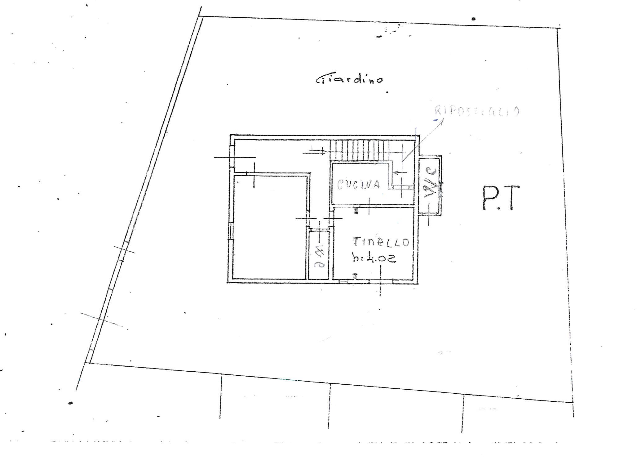 Planimetria /3 per rif. 3665