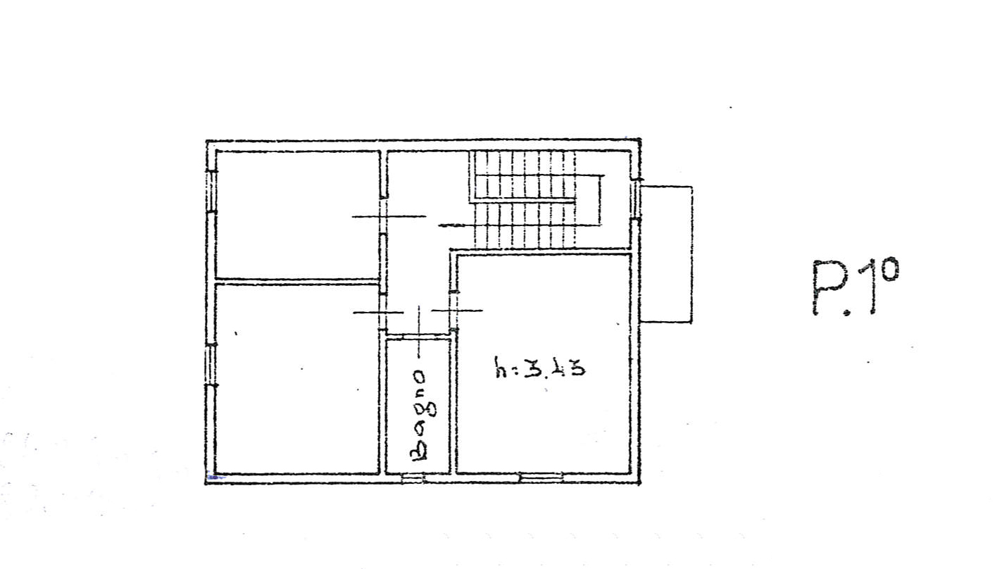Planimetria 1/3 per rif. 3665