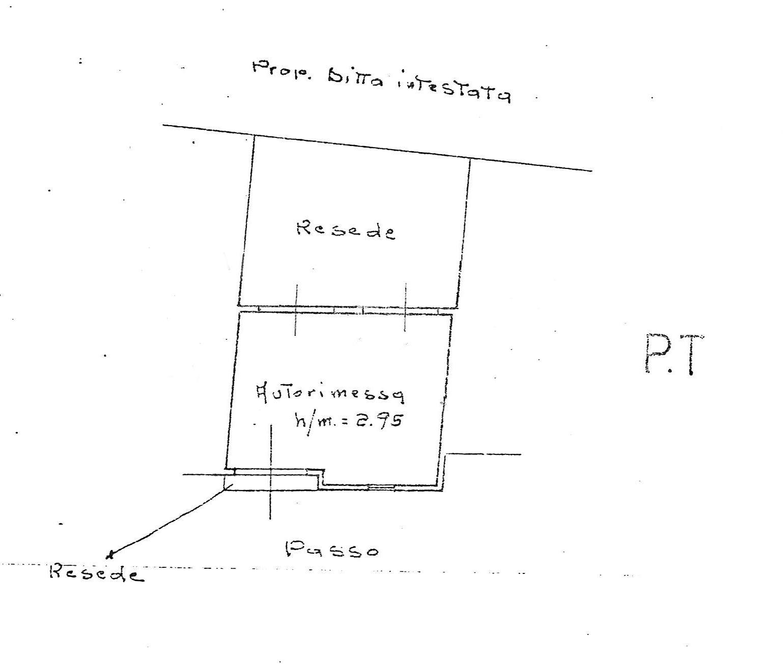 Planimetria 2/3 per rif. 3665