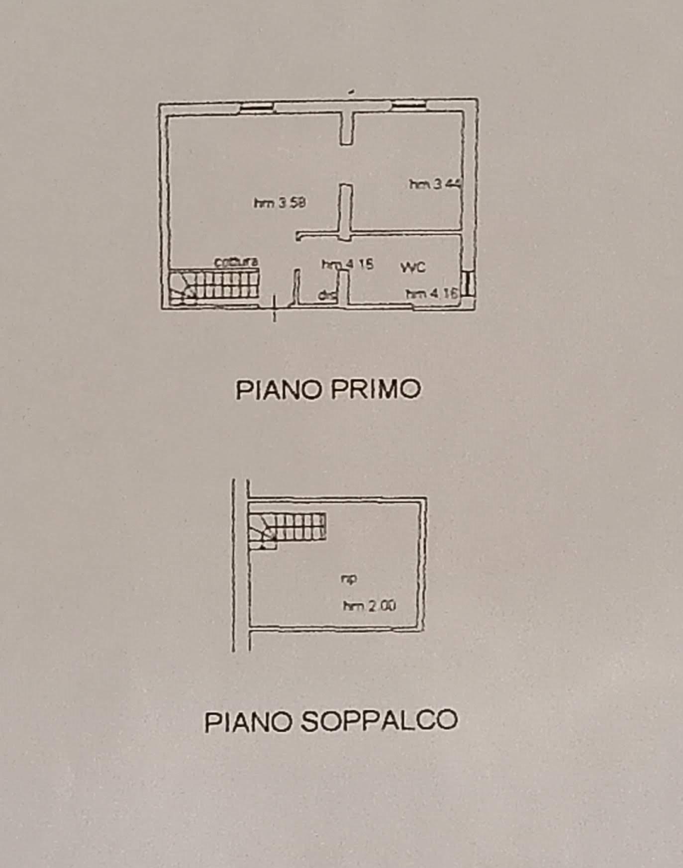 Planimetria /1 per rif. 3671