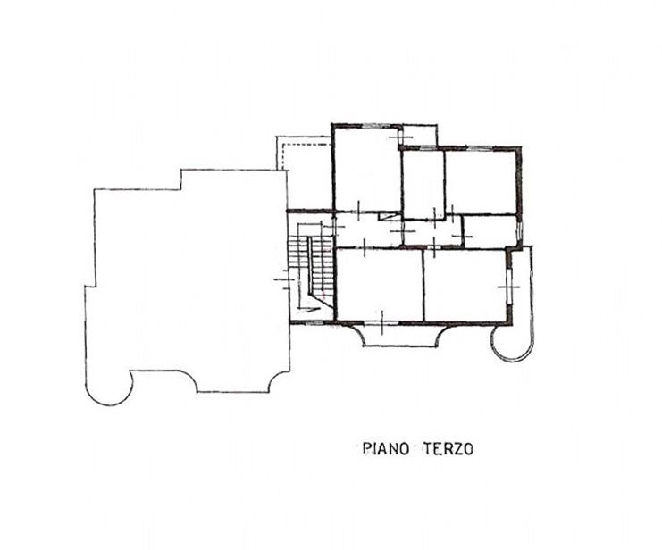 Planimetria /1 per rif. 3672
