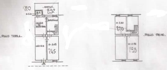 Terratetto in vendita, rif. P6009 (Planimetria 1/1)