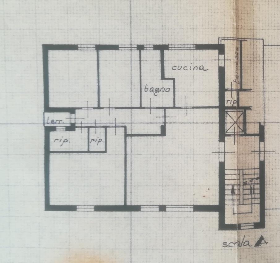 Appartamento in vendita, rif. P5012 (Planimetria 1/1)