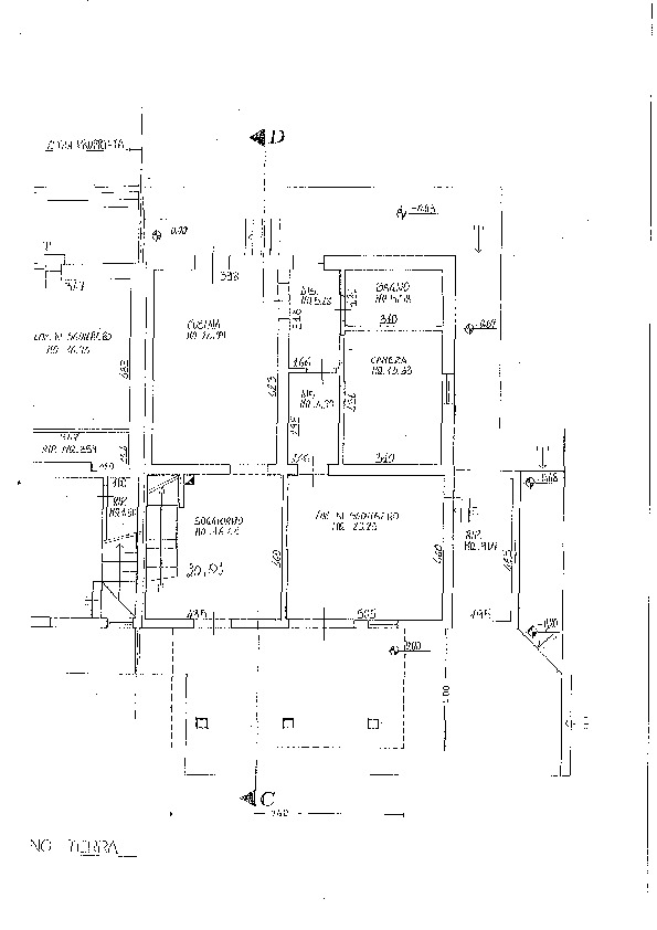 Planimetria 1/1 per rif. 04