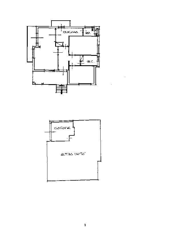 Casa singola in vendita, rif. 27 (Planimetria 1/1)