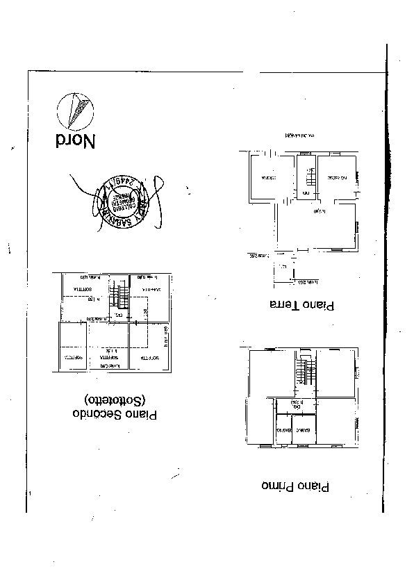 Villa singola in vendita, rif. 53 (Planimetria 1/1)