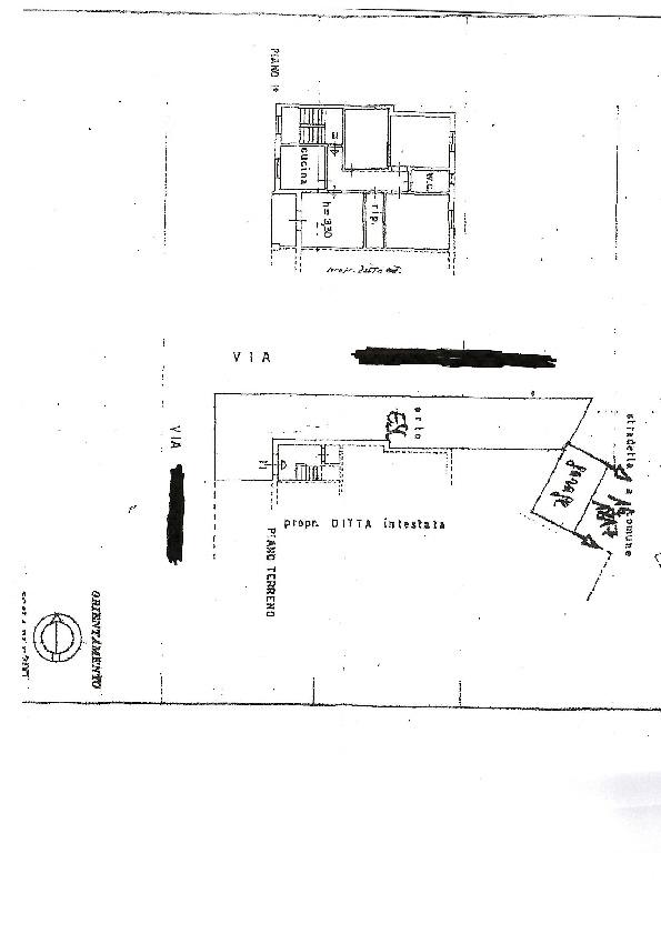 Terratetto in vendita, rif. 68 (Planimetria 1/1)
