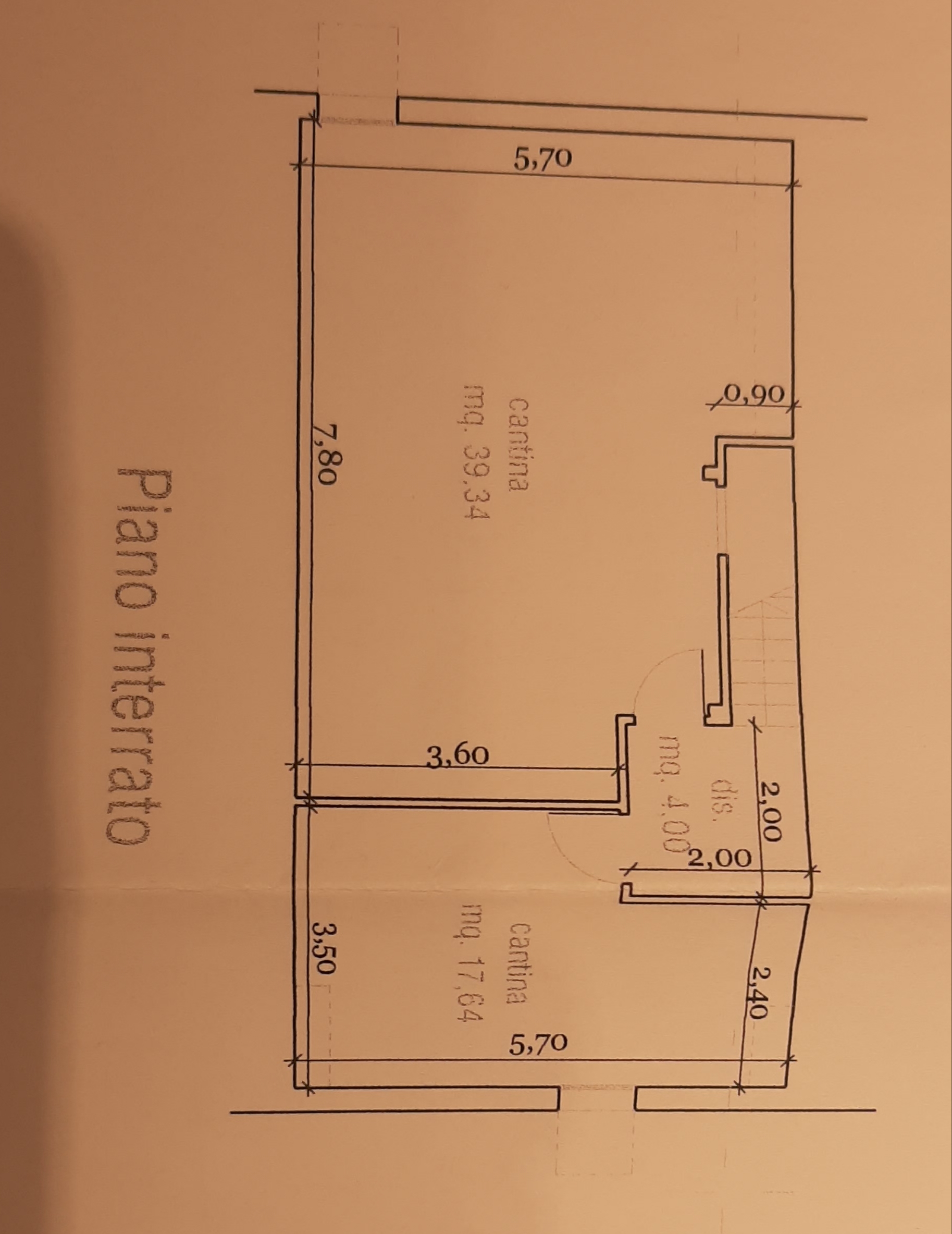 Planimetria 3/3 per rif. 81