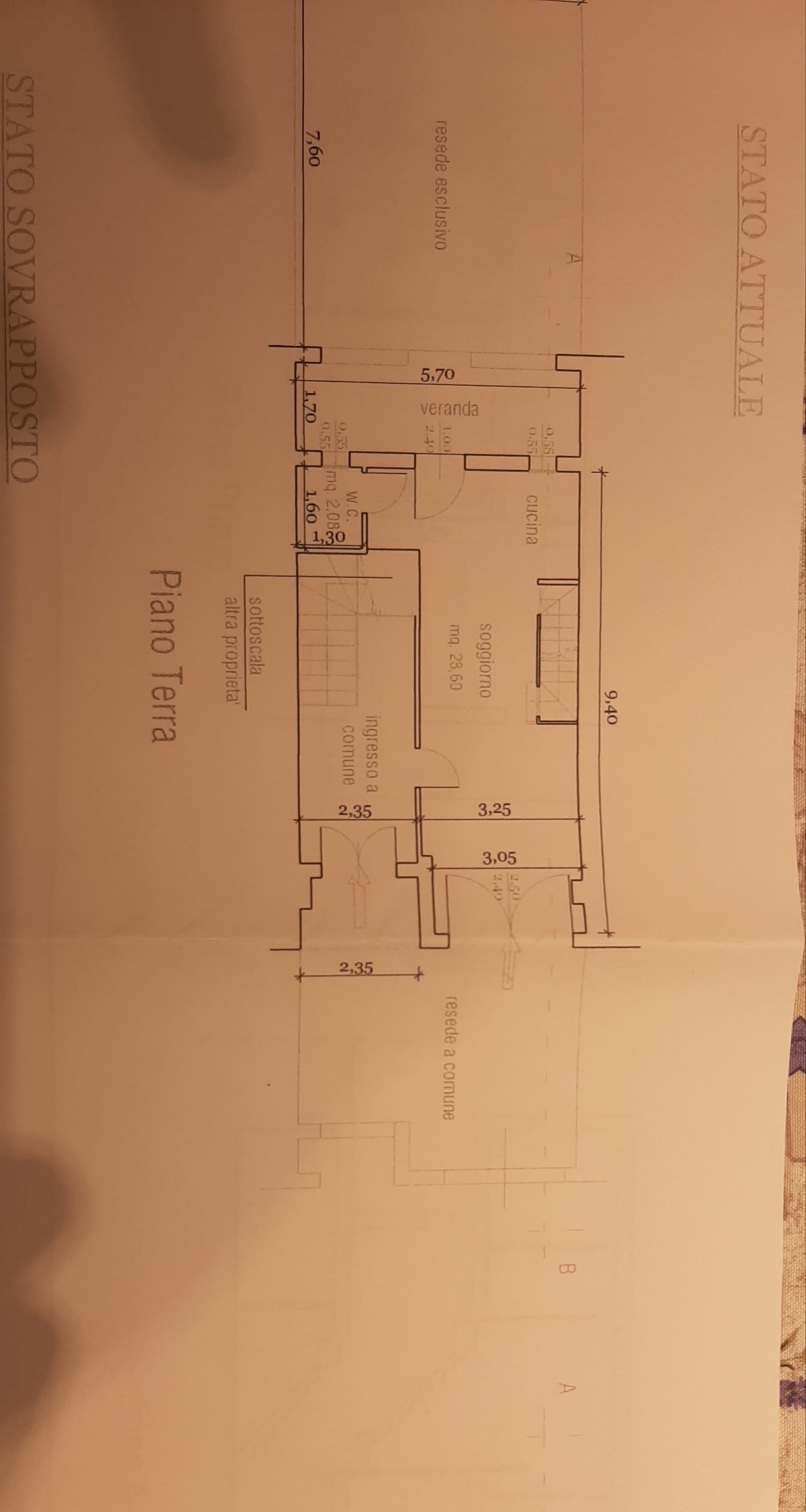 Planimetria 2/3 per rif. 81