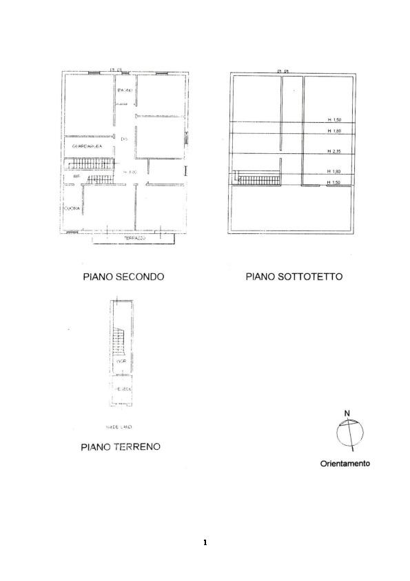 Planimetria 2/2 per rif. 100