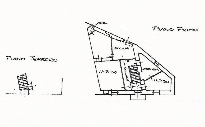 Planimetria 1/1 per rif. A750/A