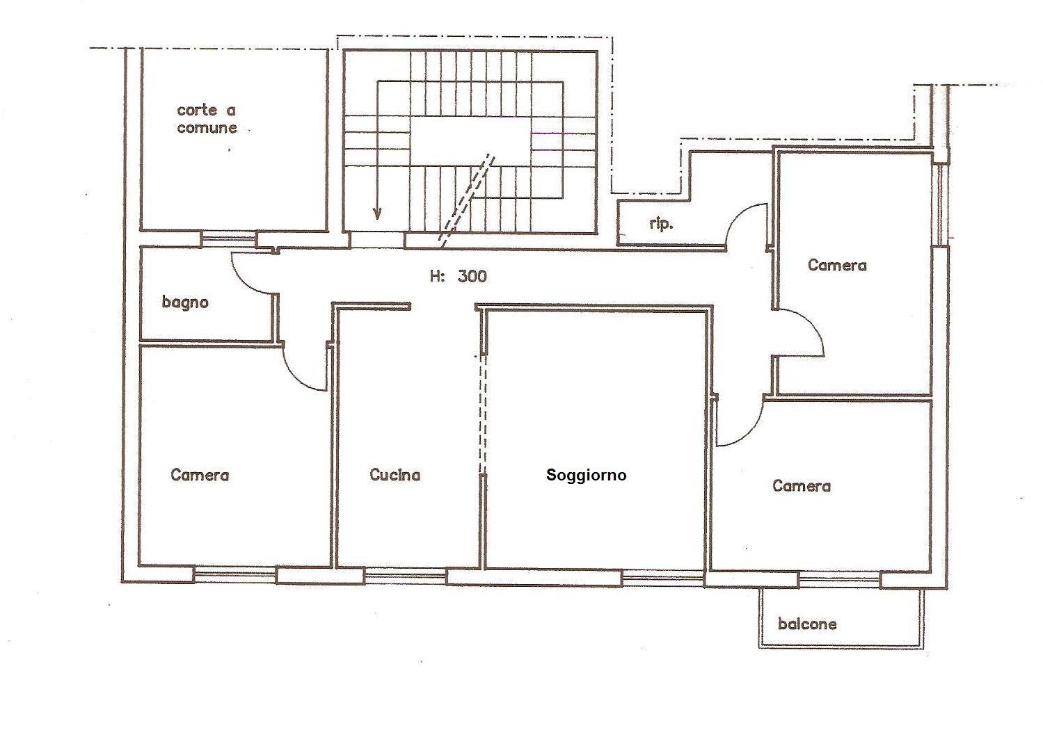 Planimetria 1/1 per rif. A752