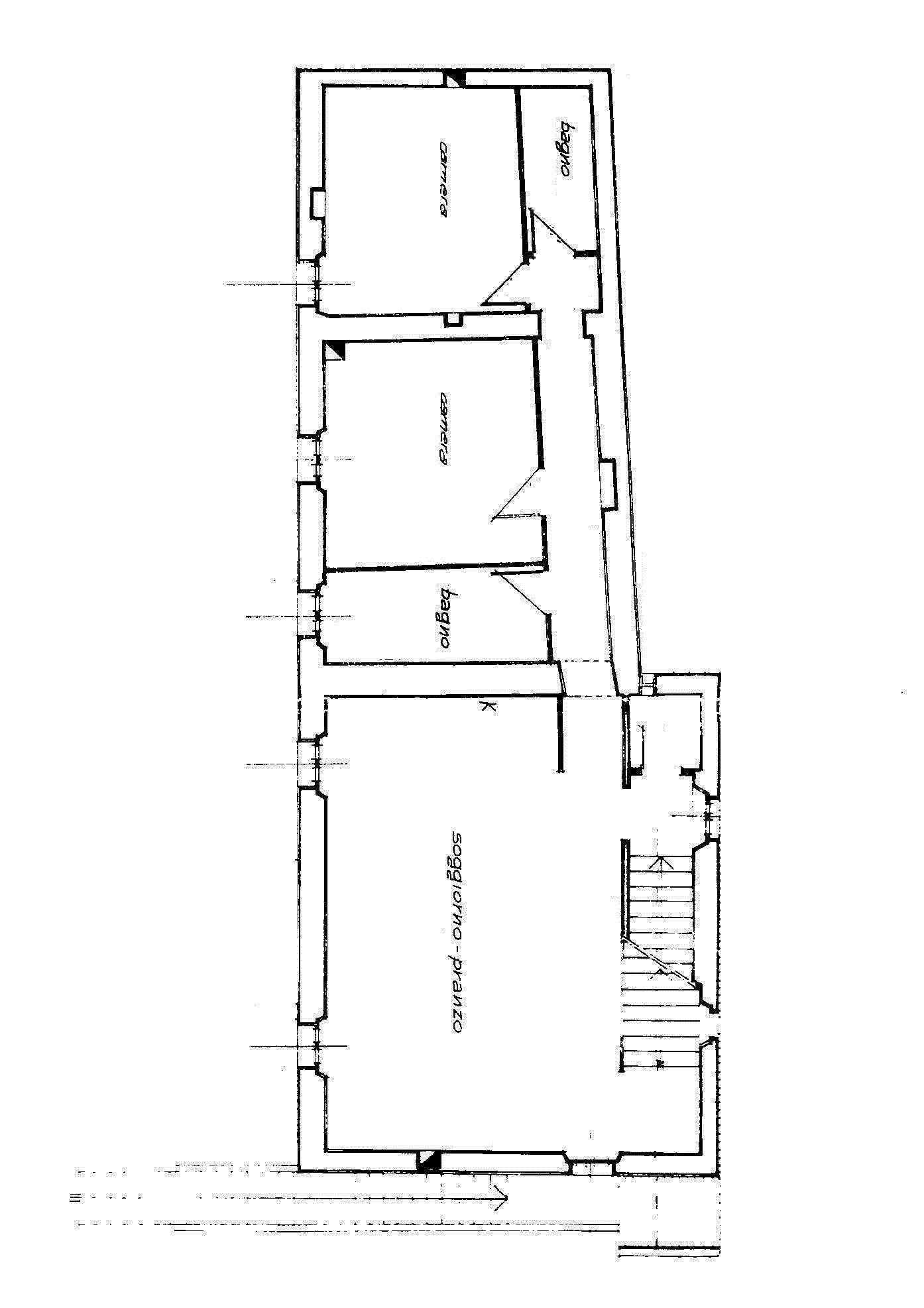 Appartamento in vendita, rif. A762 (Planimetria 1/2)