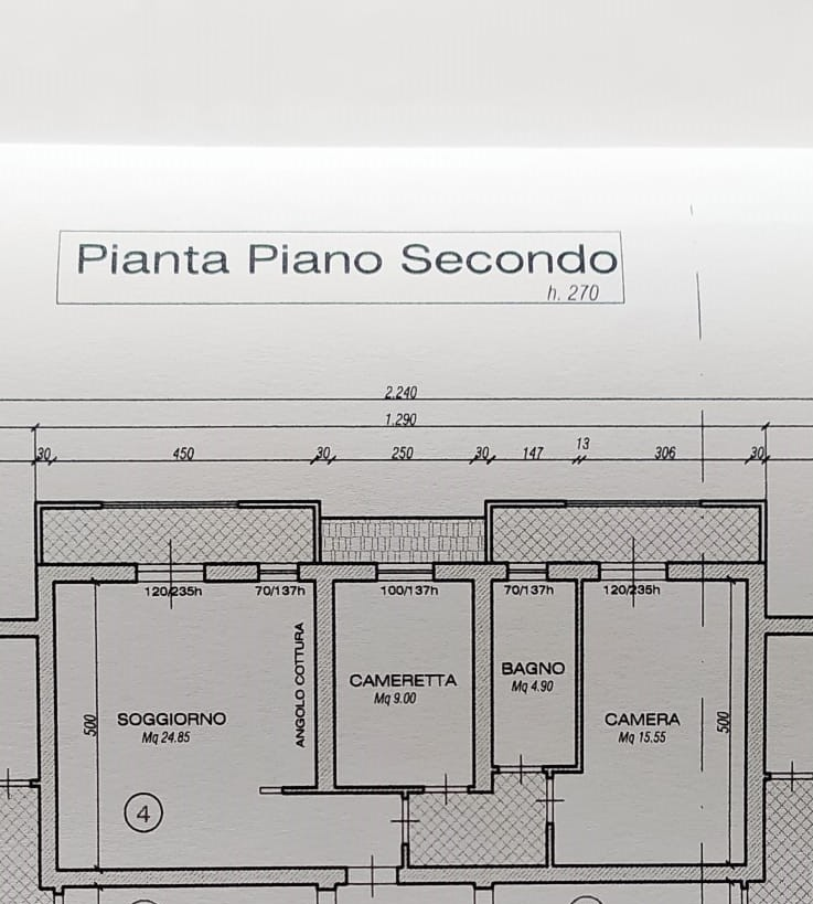 Planimetria 1/1 per rif. 667