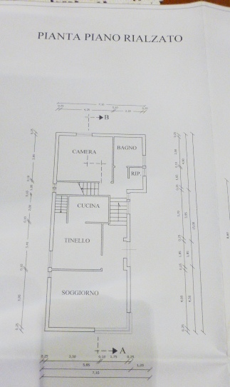 Planimetria 2/3 per rif. 688