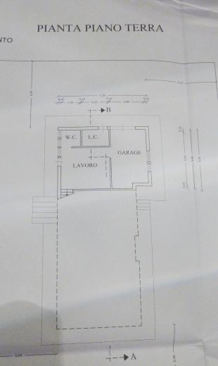 Planimetria 1/3 per rif. 688