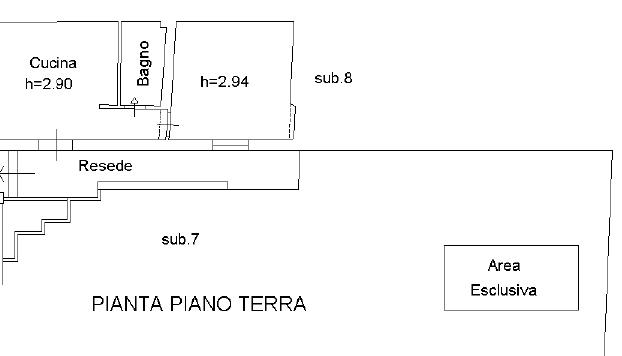 Planimetria 1/1 per rif. 701