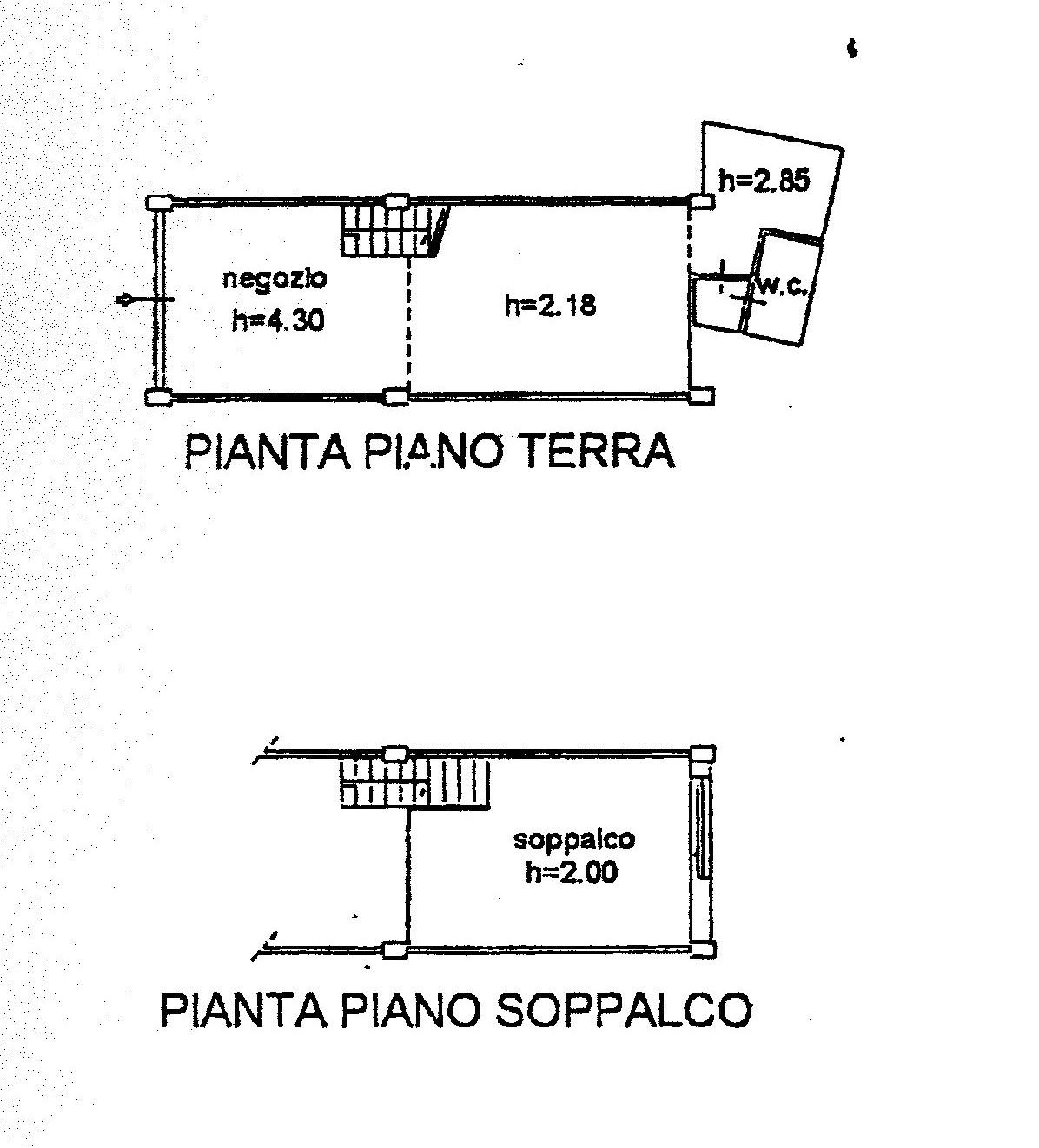 Planimetria 1/1 per rif. 015