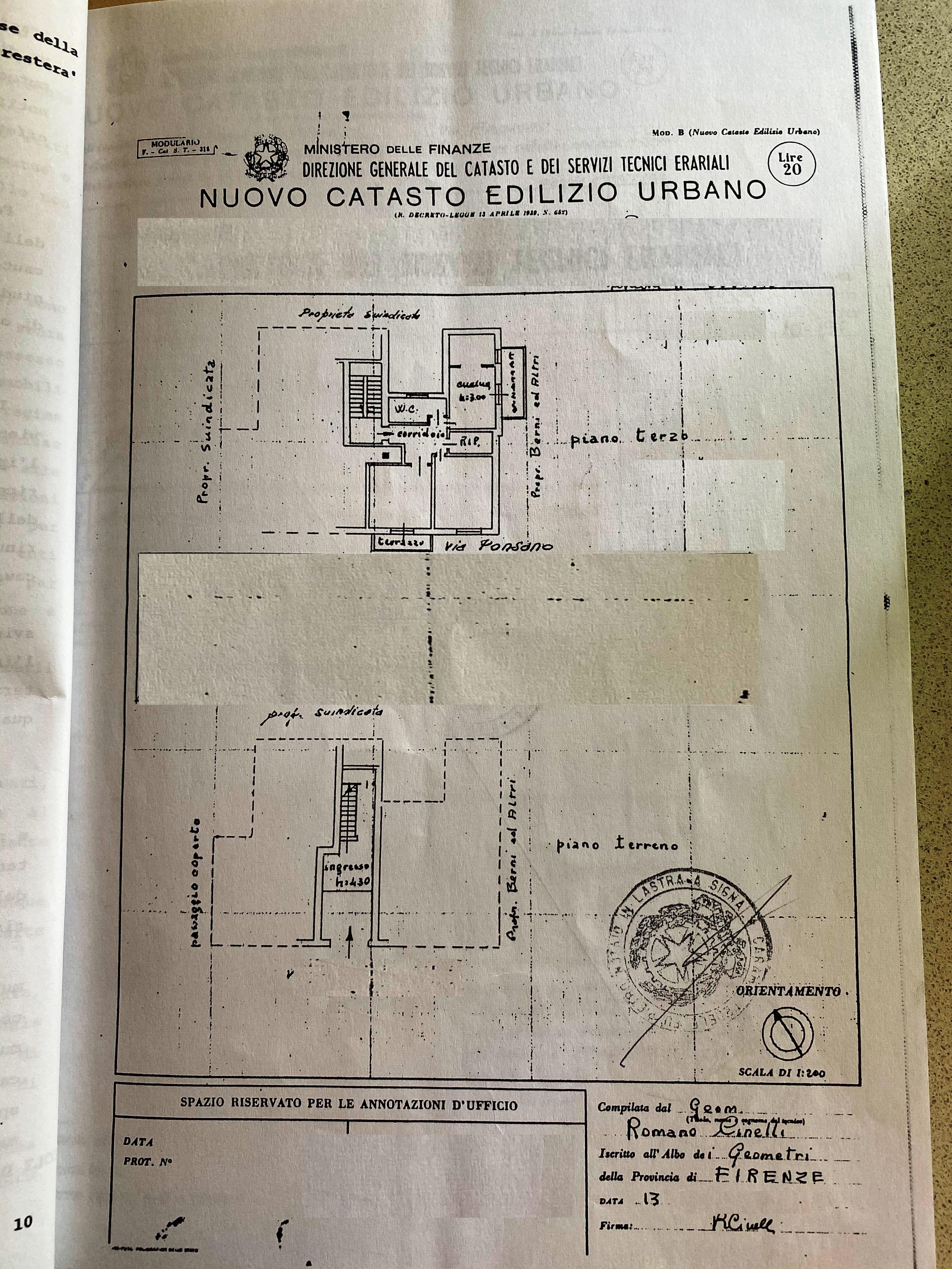 Appartamento in vendita, rif. SA/132 (Planimetria 1/1)