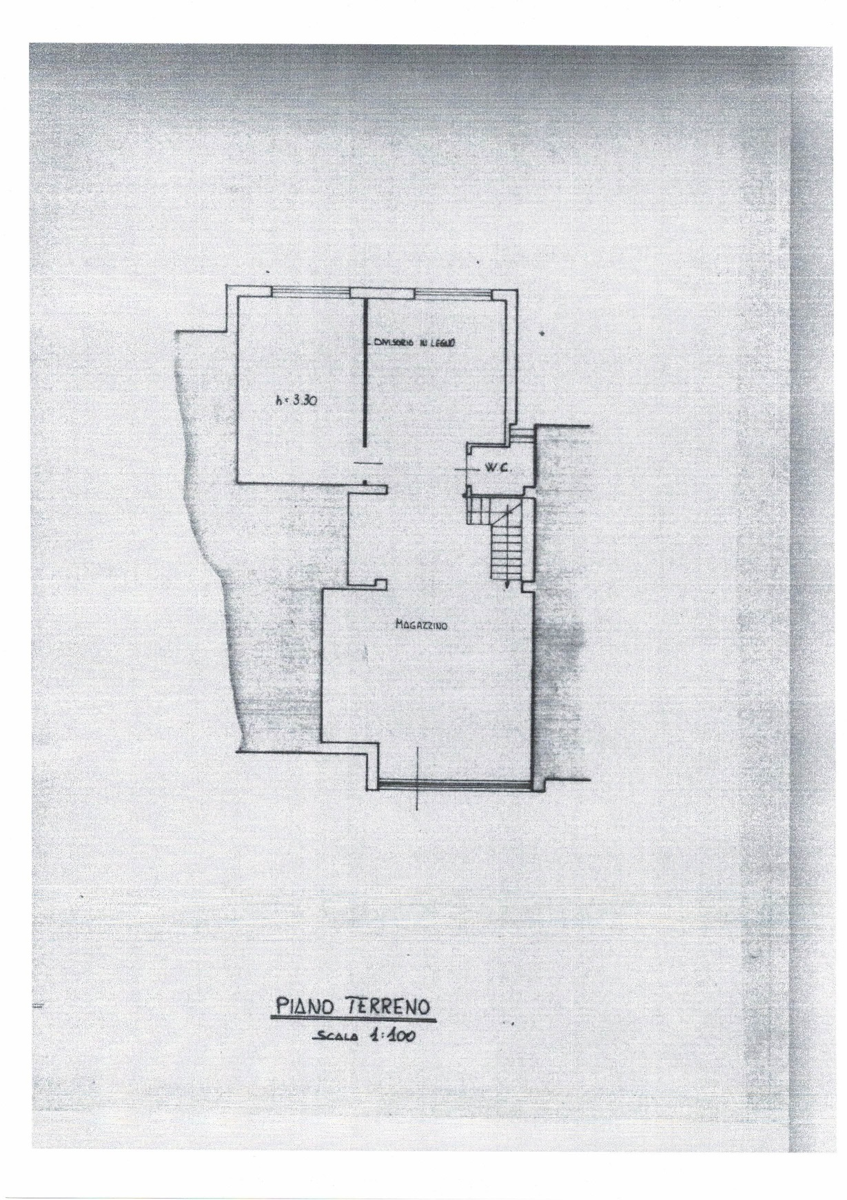 Planimetria 1/2 per rif. AFC/009