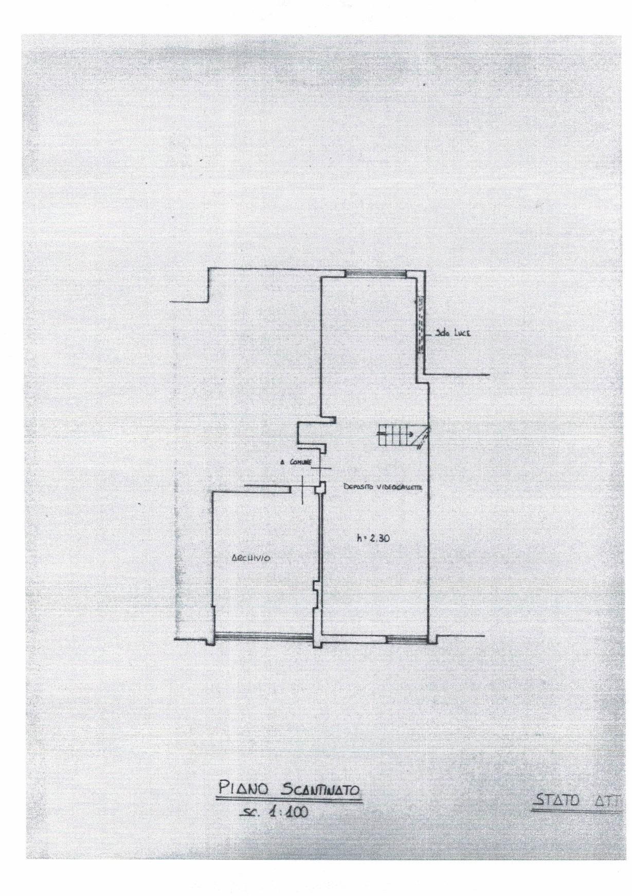 Planimetria 2/2 per rif. AFC/009
