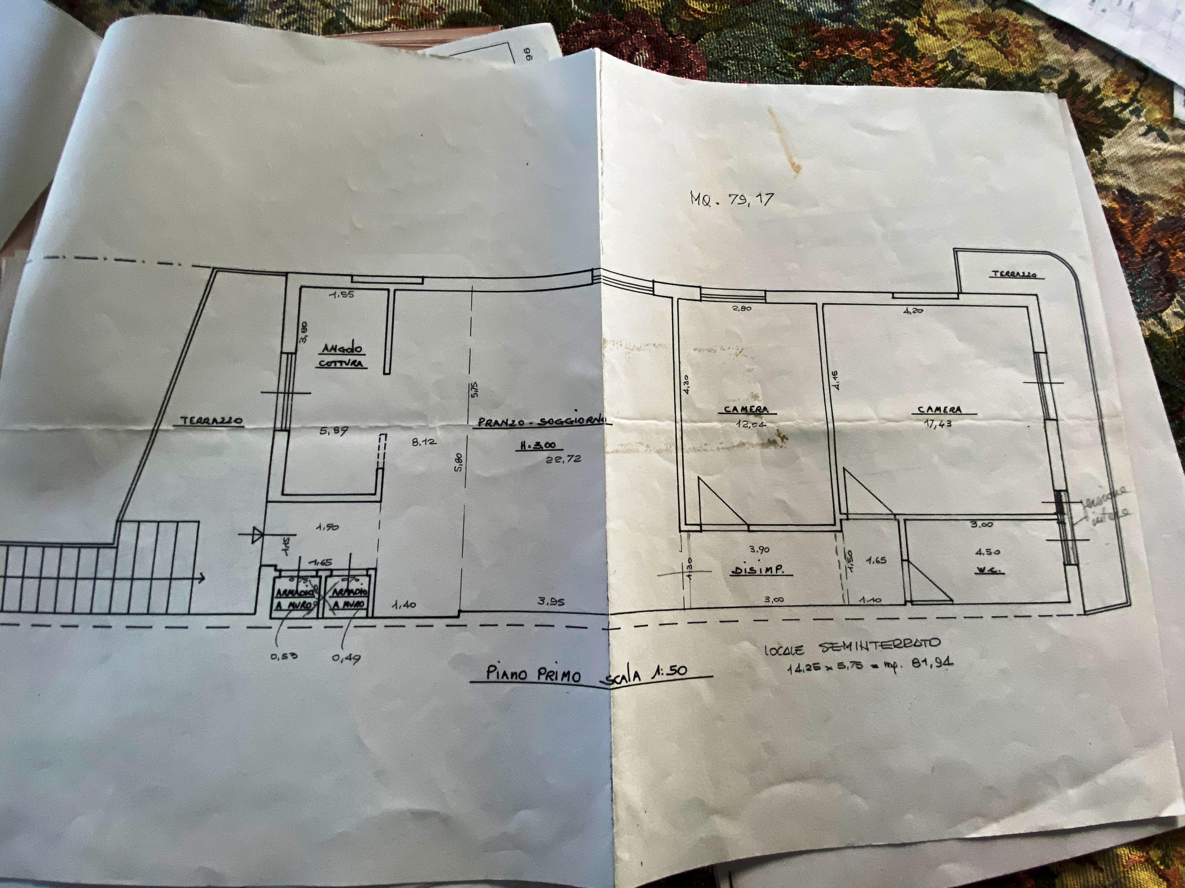 Planimetria 1/1 per rif. SA/170