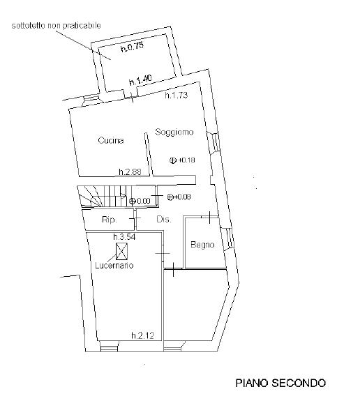 Planimetria 1/2 per rif. 113