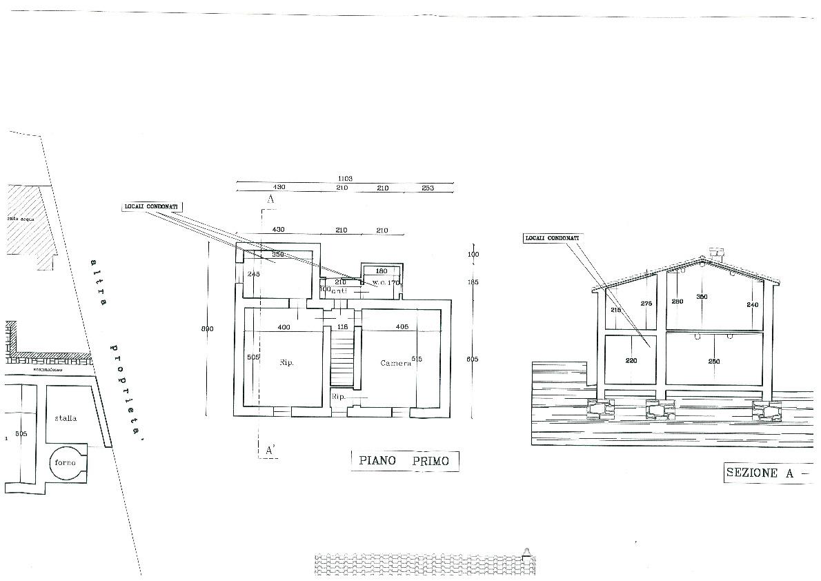 Planimetria 2/2 per rif. 405