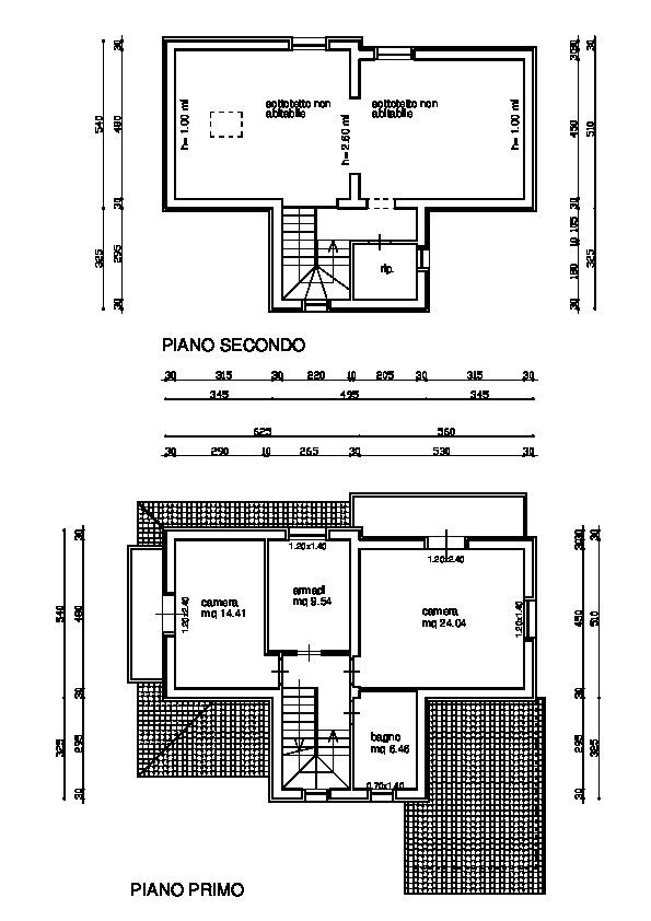 Planimetria 2/3 per rif. 24