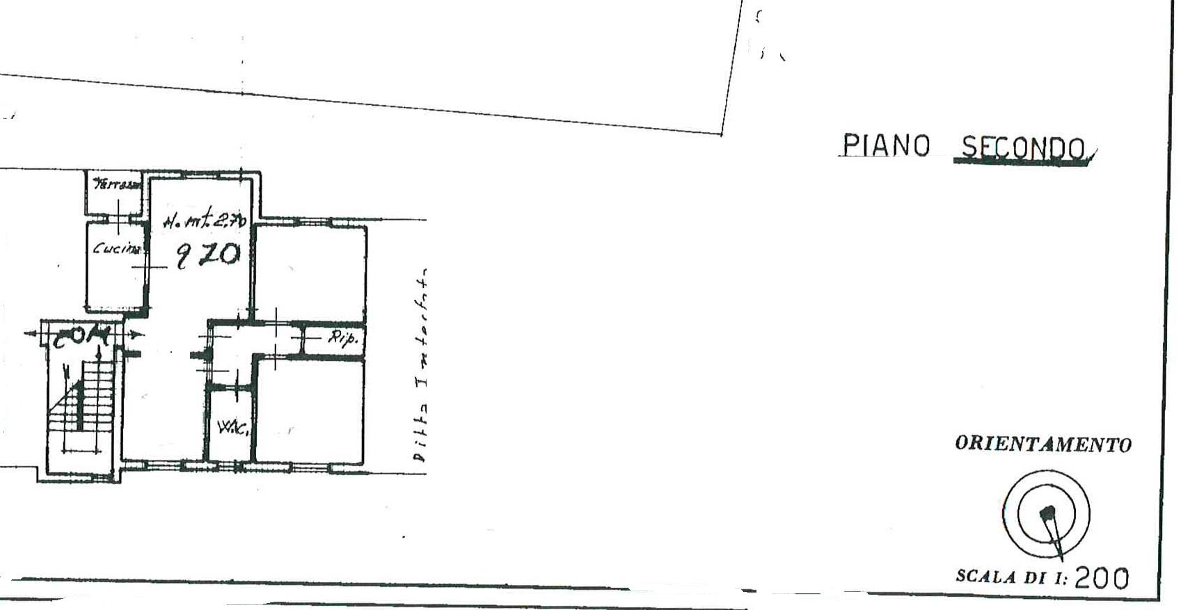 Planimetria 2/2 per rif. 29