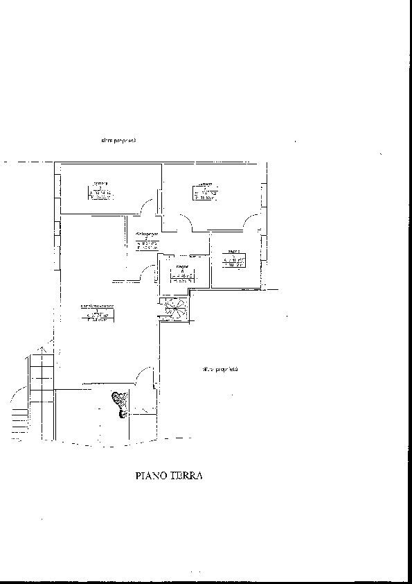 Planimetria 1/2 per rif. A 444
