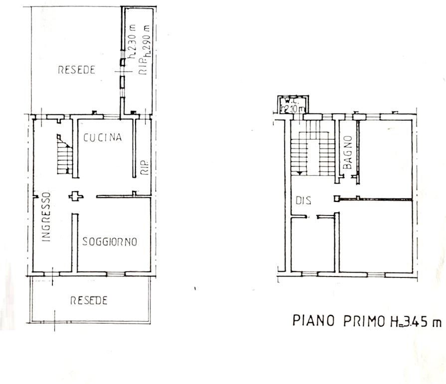 Terratetto in vendita, rif. K163 (Planimetria 1/1)