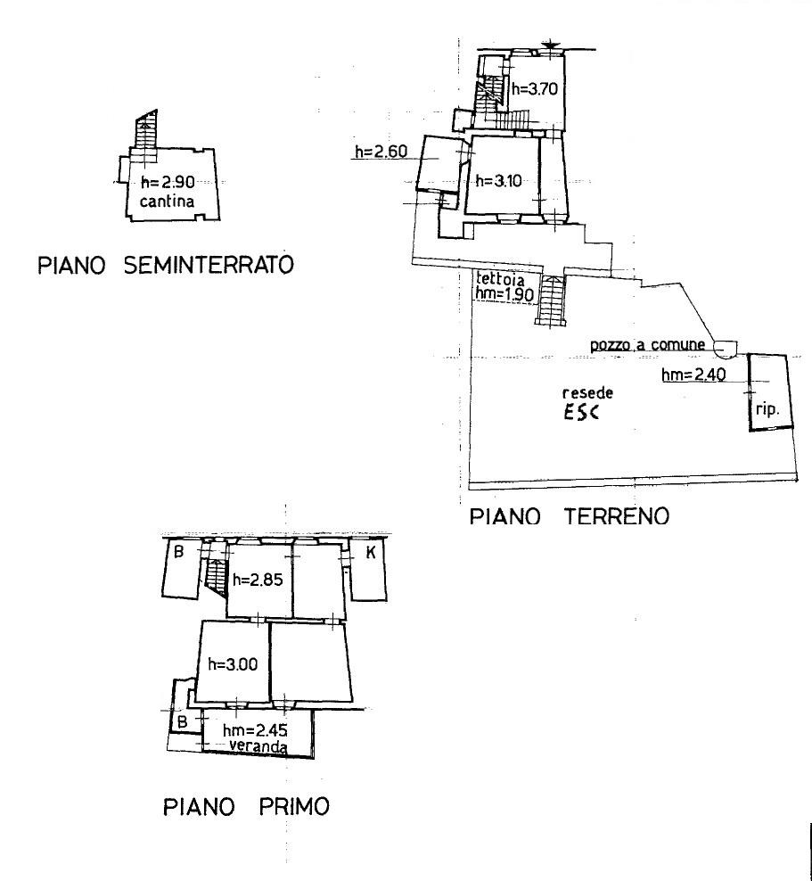 Terratetto in vendita, rif. K164 (Planimetria 1/1)