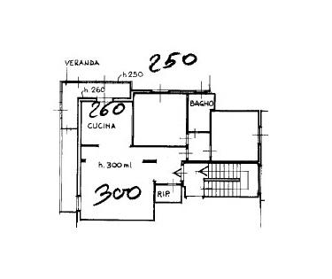 Appartamento in vendita, rif. K165 (Planimetria 1/1)