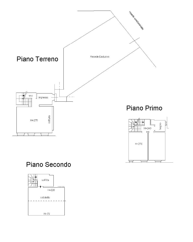 Terratetto in vendita, rif. K046 (Planimetria 1/1)