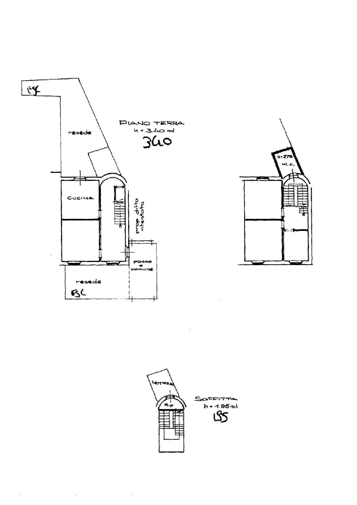 Terratetto in vendita, rif. K064 (Planimetria 1/1)