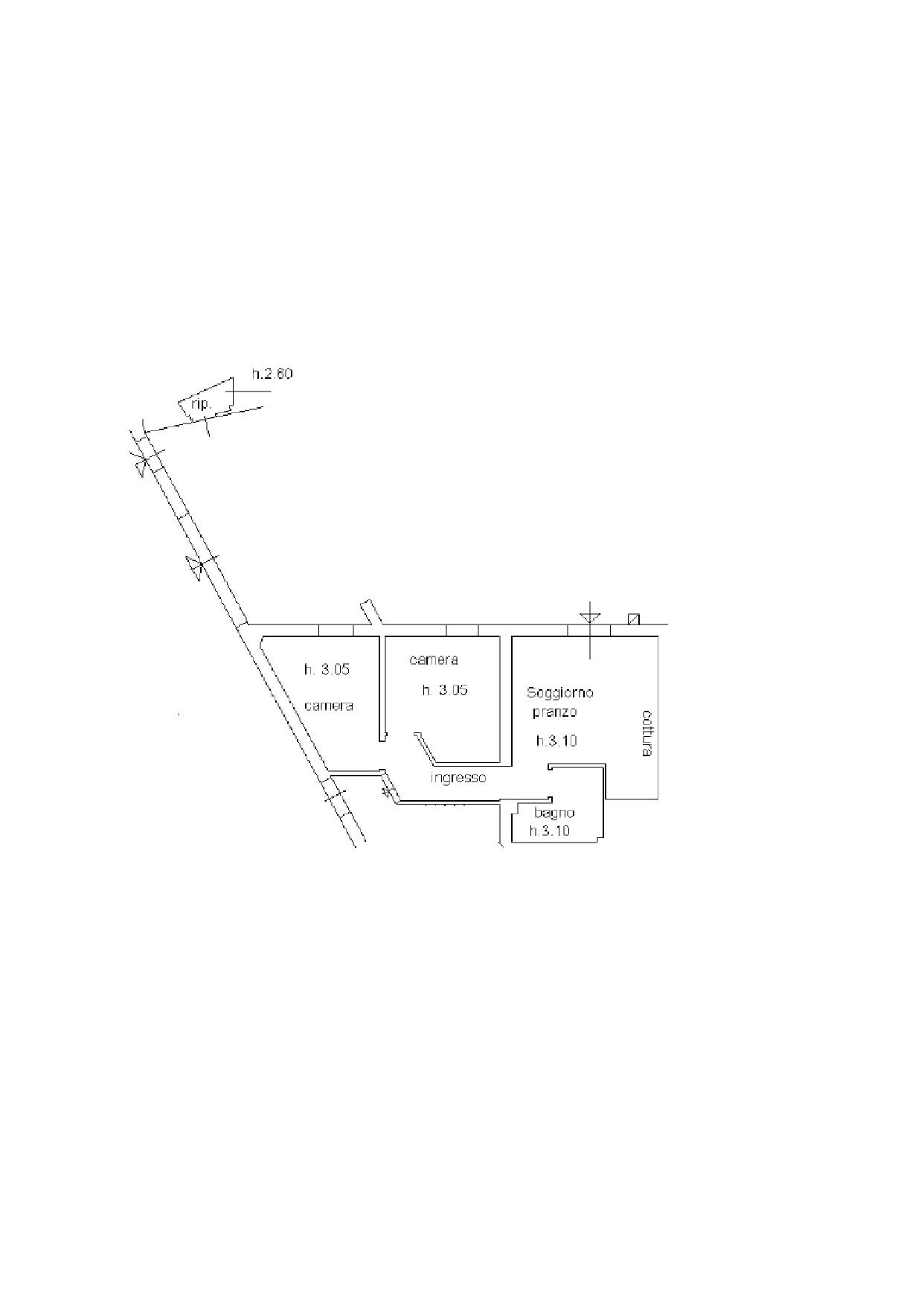 Appartamento in vendita, rif. K066 (Planimetria 1/1)