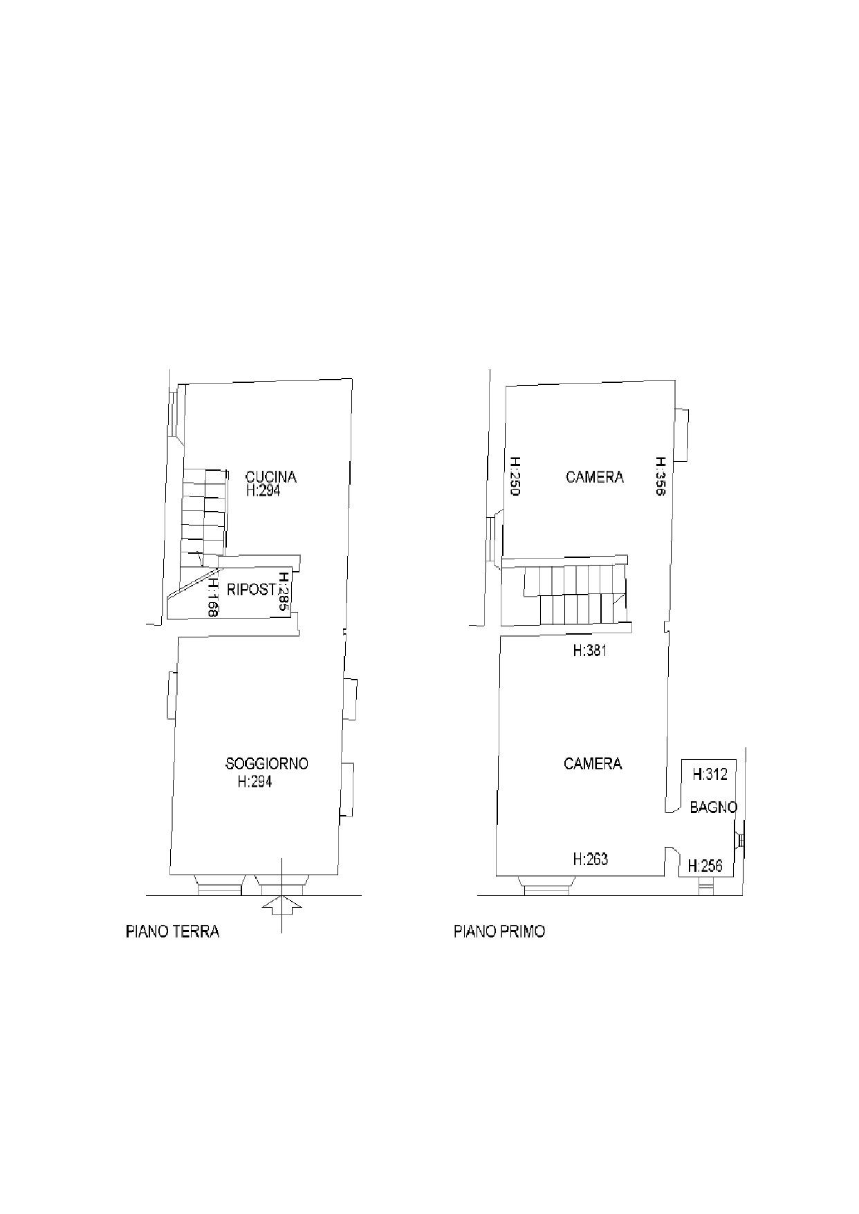 Terratetto in vendita, rif. K073 (Planimetria 1/1)